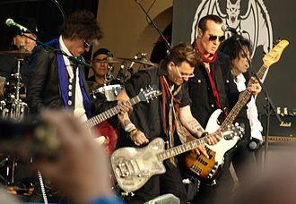 Hollywood Vampires (band) - Image: Hollywood Vampires at Gröna Lund, Stockholm