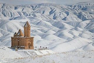 Saint John Church of Sohrol Iranian national heritage site