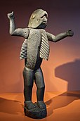 Dahomean staty i Musée du quai Branly, Paris