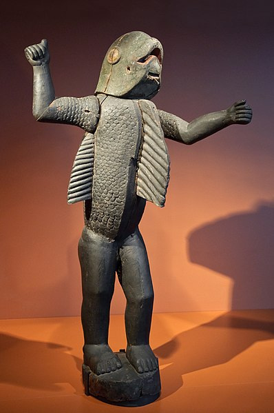Dahomey 1890-94 chez Gringo 40's 398px-Homme-requin_Dahomey