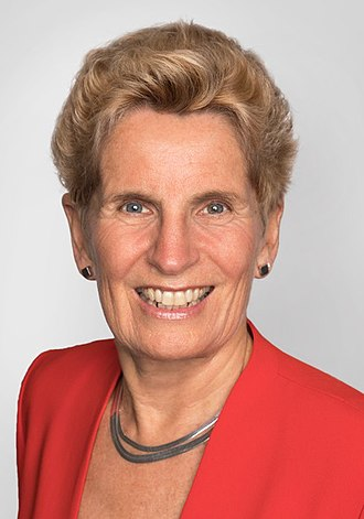 2014 Ontario general election - Image: Hon Kathleen Wynne MPP Premier of Ontario (cropped 2)