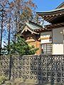Honden of Kawaguchi-jinja shrine in Watari town.JPG