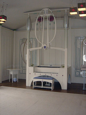 House for an Art Lover - Image: House For An Art Lover Piano