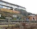 Houses above Watchet railway station - geograph.org.uk - 1872823.jpg