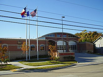 Braeswood Place, Houston - Fire Station 37