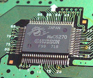 Hudson Soft HuC6270 video display controller developed by Hudson Soft