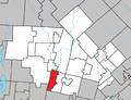 Huberdeau Quebec location diagram.png