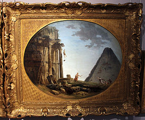 Landscape with Ancient Ruins