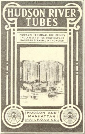 Hudson Terminal - An advertisement for the Hudson Terminal