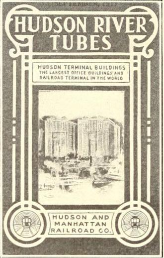 Hudson Terminal - An advertisement for the Hudson Terminal