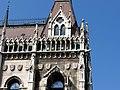 Hungarian Parliament, south, detail, 2013 Budapest (384) (13227789044).jpg