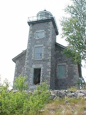 Huron Island Light - Huron Island Light as seen in 2006