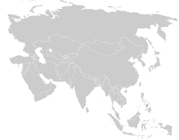 Hypsipetes siquijorensis distribution map.png