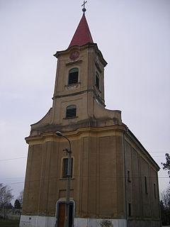 Iža Village in Slovakia