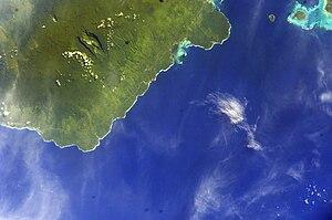 Palauli - Image: ISS012 E 23599 NASA Savai'i south & west Palauli, Satupaitea, Apolima, Manono