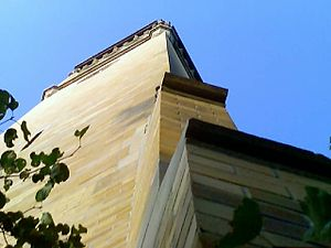 Campanile (Iowa State University) - Image: ISU campanile up