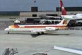 "Iberia McDonnell Douglas MD-87 (DC-9-87) EC-EZA ""Ciudad de Segovia"" (34023462271).jpg"