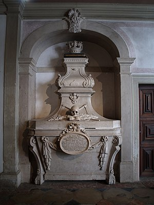 Pantheon of the House of Braganza - Tomb of José of Braganza, High Inquisitor of Portugal.