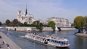 Ile de la Cite from Pont de la Tournelle