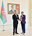 Ilham Aliyev met with athletes who competed in 15th Summer Paralympic Games 9.jpg