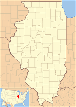 Fithian, Illinois is located in Illinois