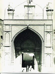 Imam Husayn and abbas Shrine in Karbala (150458838).jpg