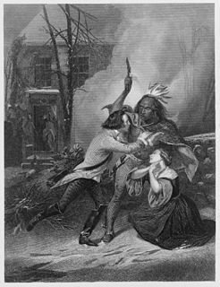 Cherry Valley massacre British and Iroquois attack during the American Revolutionary War
