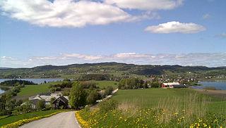 Inderøy Municipality in Trøndelag, Norway