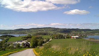 Inderøy - Image: Inderøy Sund Straumen