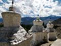 India - Ladakh - Leh - 089 - Chortens at Shanti Stupa (3908917987).jpg