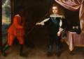Infante D. Afonso e um pajem negro (c. 1653) - Avelar Rebelo.png