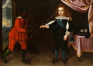 Afonso VI of Portugal - Portrait of Infante Afonso; José de Avelar Rebelo, 1653.