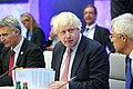 Informal meeting of foreign affairs ministers (Gymnich). Round table Boris Johnson (36913612672).jpg