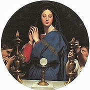 Ingres the virgin of the host