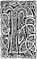 Initial at p.63 of Sir Gawain and the Lady of Lys (1907).png