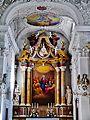 Innsbruck Spitalkirche Hl. Geist Innen Hochaltar 2.jpg