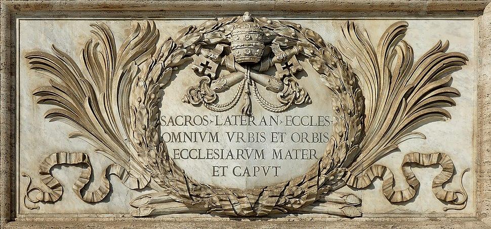 Inscription Ecclesiarum Mater San Giovanni in Laterano 2006-09-07