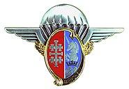 Insigne régimentaire du 1er régiment de hussards parachutistes