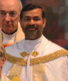 John Perumbalath Archdeacon of Barking; Indian-British Anglican priest