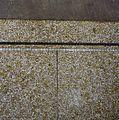 Interieur, terrazzo vloer in gang, detail- loodstrip - Groningen - 20284921 - RCE.jpg