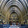 interieur van de centrale hal met decoraties - utrecht - 20349663 - rce