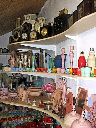 Bakelite Museum - Image: Interior, the Bakelite Museum, Williton geograph.org.uk 1024884