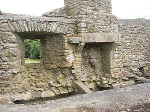 Aghaviller - Interior of Aghaviller ruined church