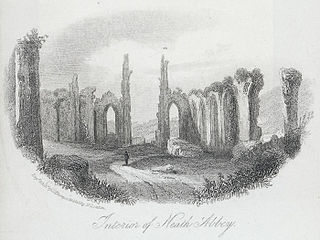 Interior of Neath Abbey