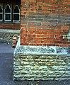 Inverted benchmark on Carswell Community Junior School - geograph.org.uk - 2070794.jpg