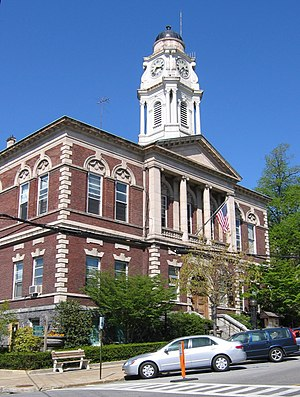 Irvington Town Hall - Front (south) elevation, 2006
