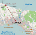 Istanbul International Airport Location Map (English).png