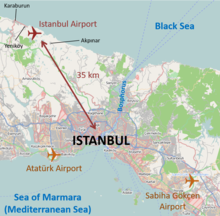 ataturk international airport map Istanbul Airport Wikipedia ataturk international airport map
