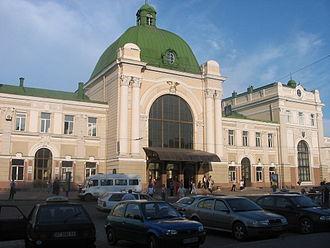 Ivano-Frankivsk Municipality - Ivano-Frankivsk Railway Station