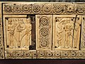 Ivory Box with Scenes of Adam and Eve, 1000-1100s AD, Byzantine, Constantinople, ivory, wood - Cleveland Museum of Art - DSC08378.JPG